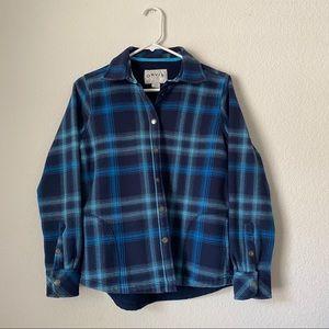 Orvis Ladies' Flannel Shirt/Jacket sz S